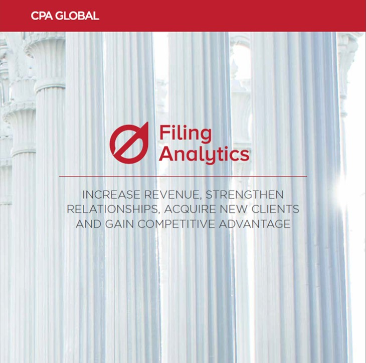 Filing Analytics Product Brochure